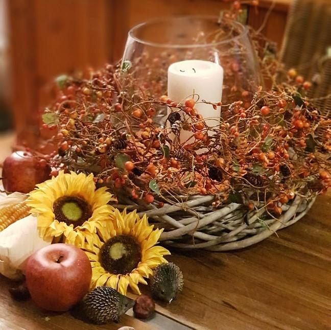 Herbstdekoration für Ihr schönes Zuhause - Deko im Nature-Style
