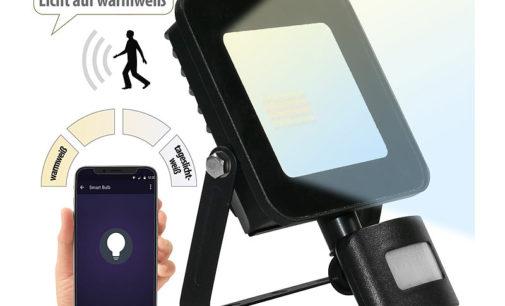 Luminea Home Control WLAN-Fluter LED-160